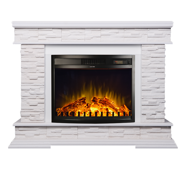 Stone & Zakinthos electric fireplace - photo