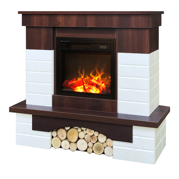 Leon & Dionis electric fireplace - photo