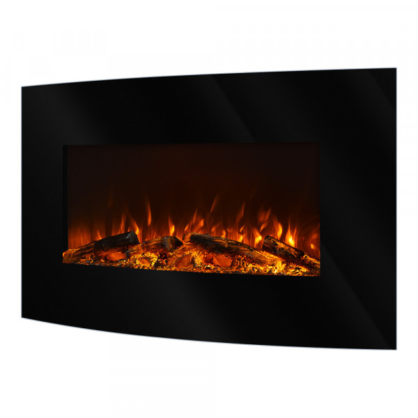 Santorini electric fireplace - photo