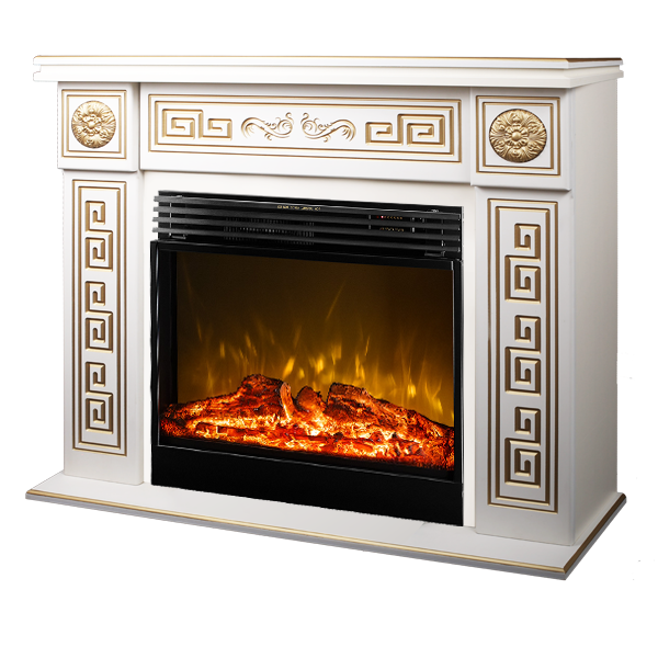 Versailles maxi & Mirabella electric fireplace - photo