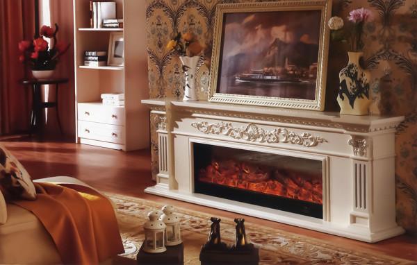 Poseidon electric fireplace - photo