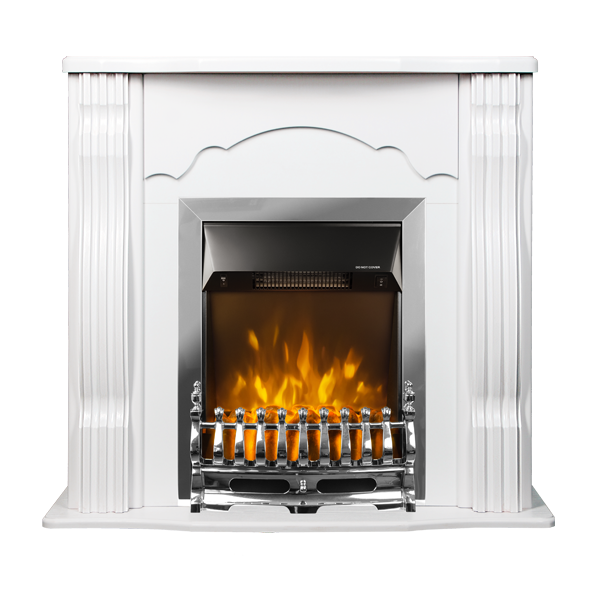 Clasic & Galileo silver electric fireplace - photo 2