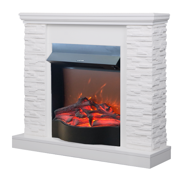 Rock & Corsica electric fireplace - photo