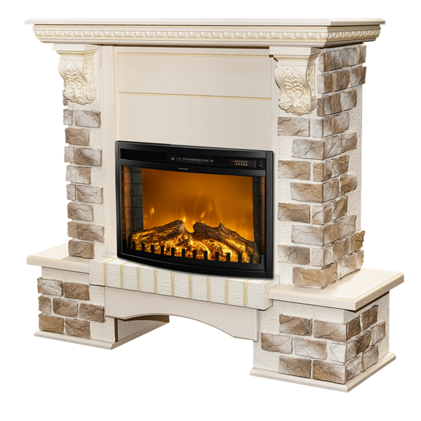 Topaz & Zakinthos electric fireplace - photo