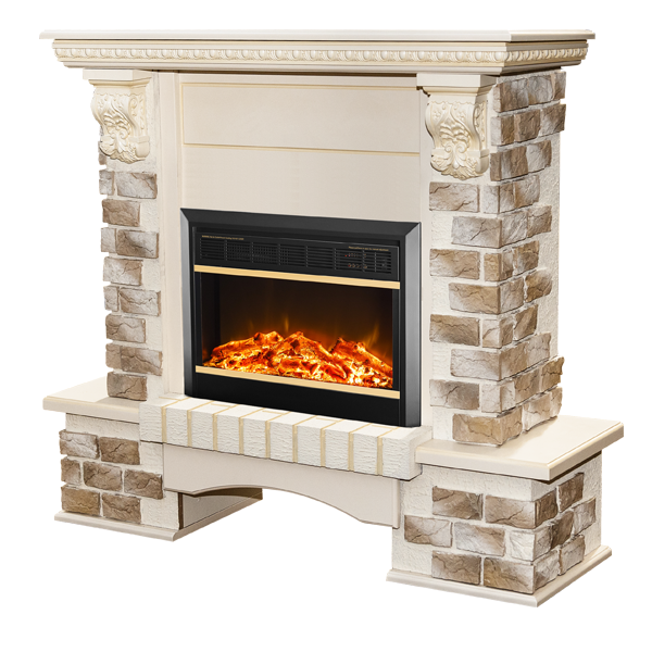 Topaz & Mars electric fireplace - photo