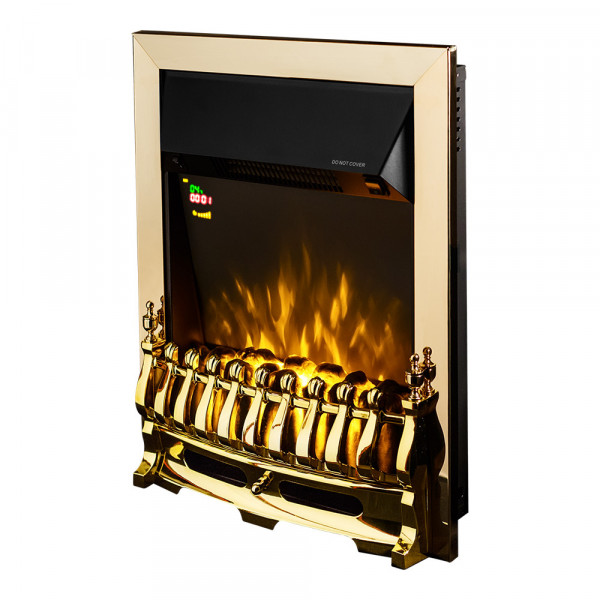 Galileo gold electric fireplace - photo