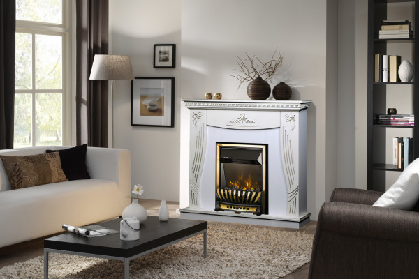 Napoli & Meridian electric fireplace - photo