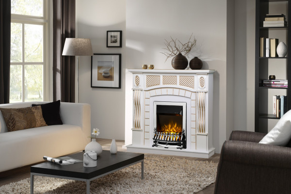 Amsterdam & Galileo silver electric fireplace - photo 3