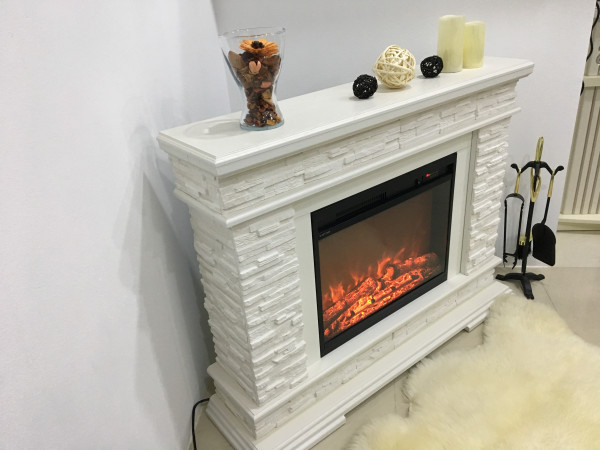 Stone & Lorance electric fireplace - photo