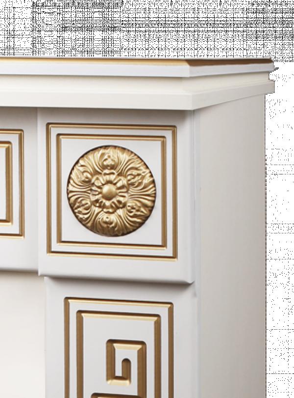 Semineu electric Versailles gold & Miriam - fotografie 4