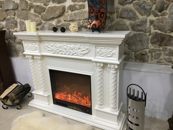 Montecarlo electric fireplace - photo