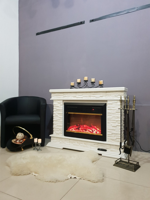 Stone & Mars electric fireplace - photo