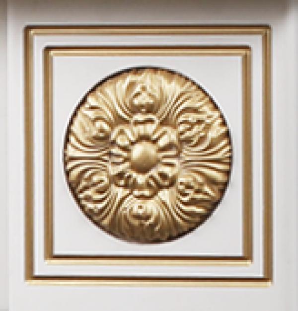 Semineu electric Versailles gold & Miriam - fotografie 5