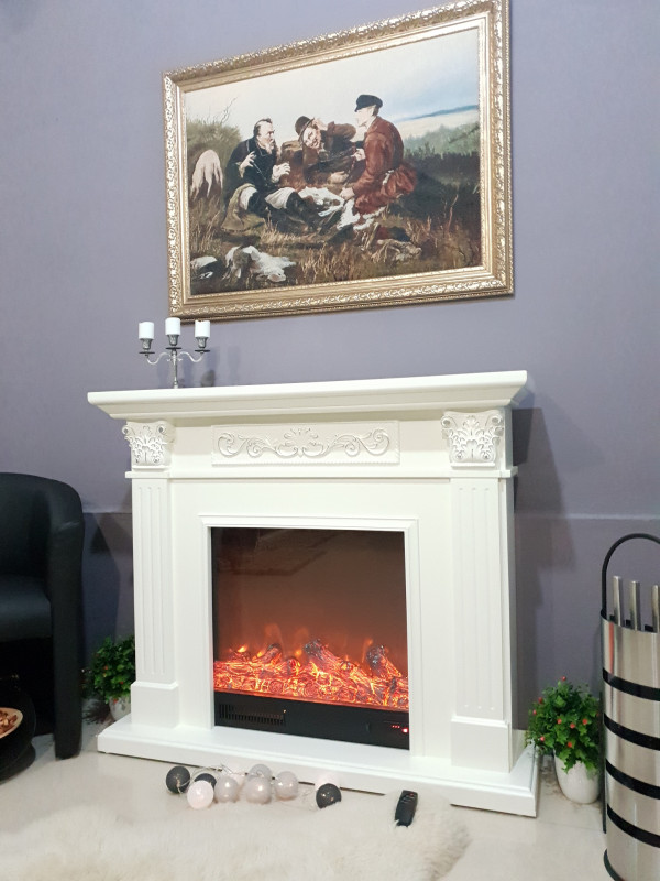 Valencia electric fireplace - photo