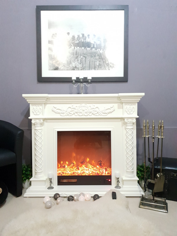Milano electric fireplace - photo