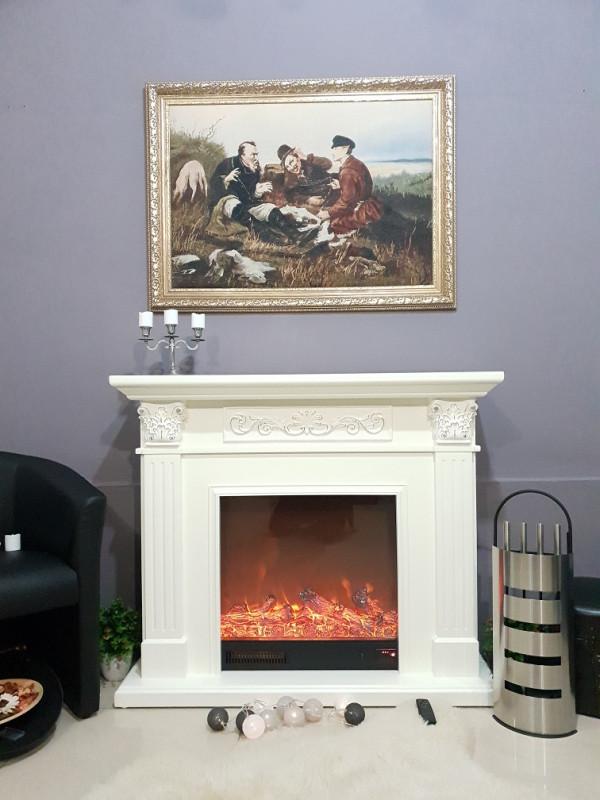 Valencia electric fireplace - photo