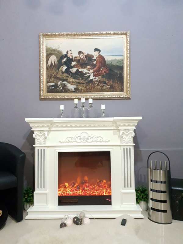 Marseilles electric fireplace - photo 3