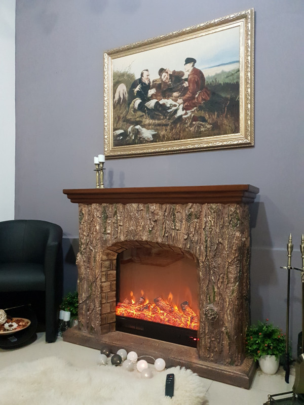 Druid electric fireplace - photo