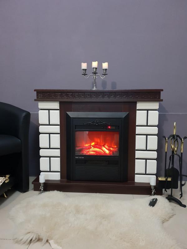Nazarii mini & Cristina electric fireplace - photo