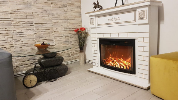 Orion & Zakinthos electric fireplace - photo
