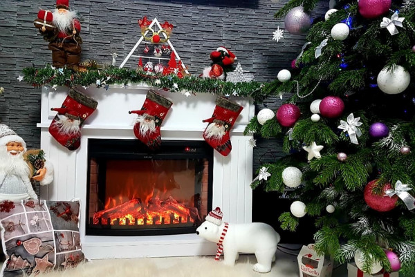 Marina maxi & Zakinthos electric fireplace - photo 4