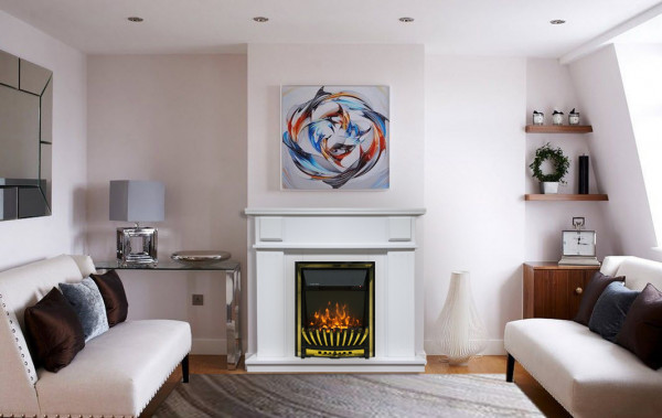Marina & Meridian electric fireplace - photo