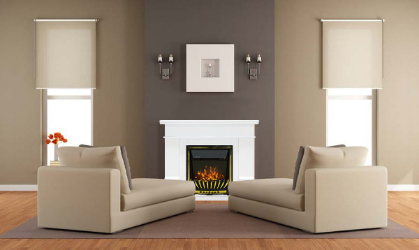 Rodos & Meridian electric fireplace - photo
