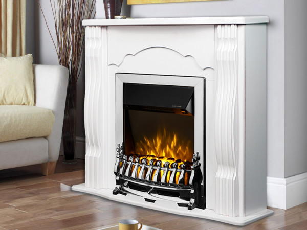 Clasic & Galileo silver electric fireplace - photo 4