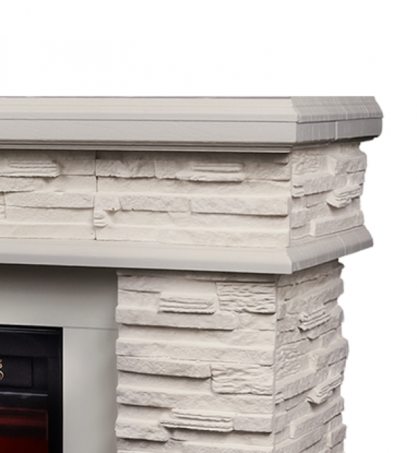 Stone & Ararat electric fireplace - photo