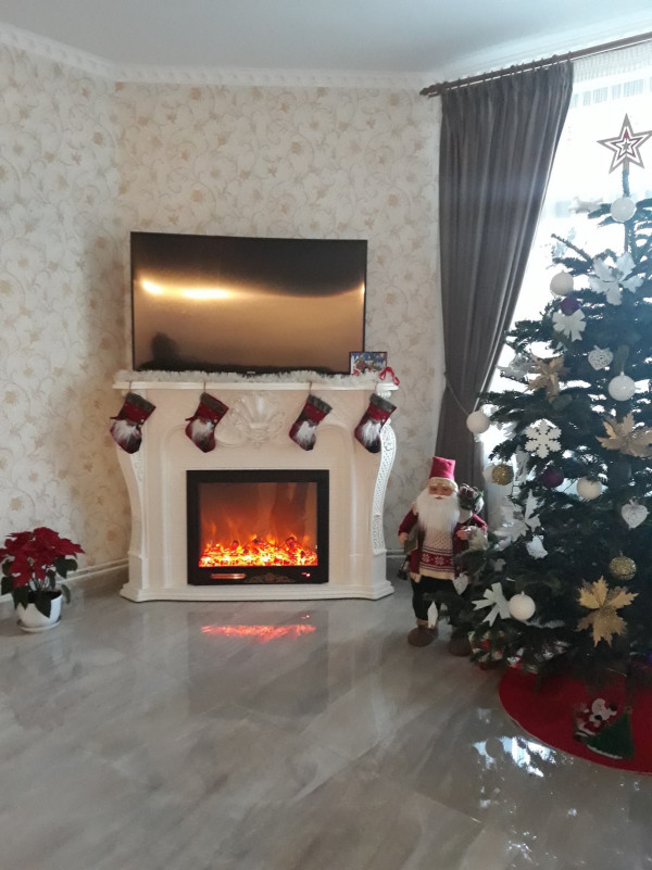 Perla electric fireplace - photo