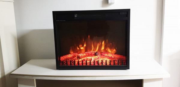 Vienna 23 electric fireplace - photo