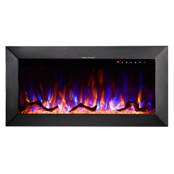 Racy 36 electric fireplace - photo