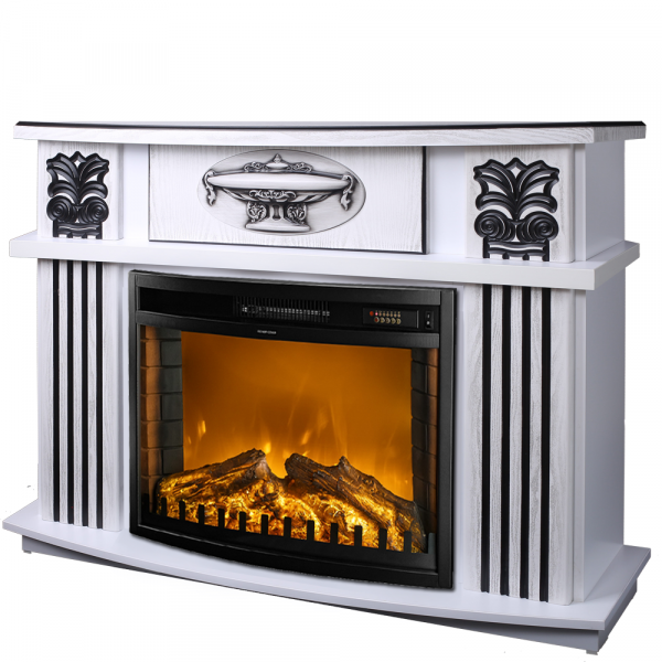 Roma mini & Zakinthos electric fireplace - photo