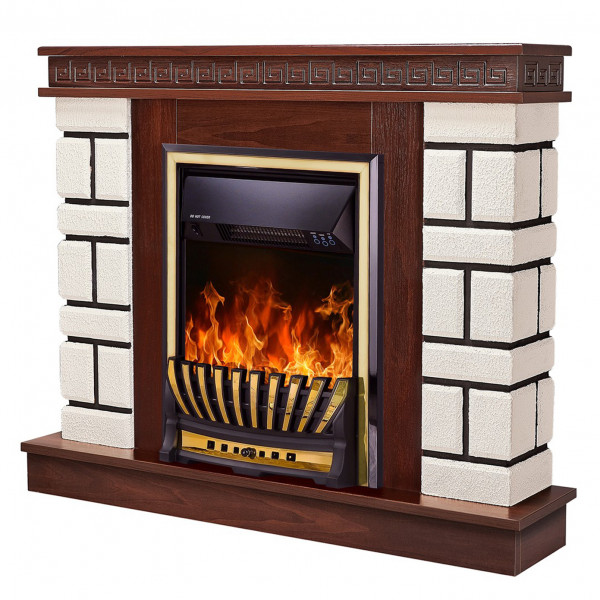Nazarii mini & Meridian electric fireplace - photo