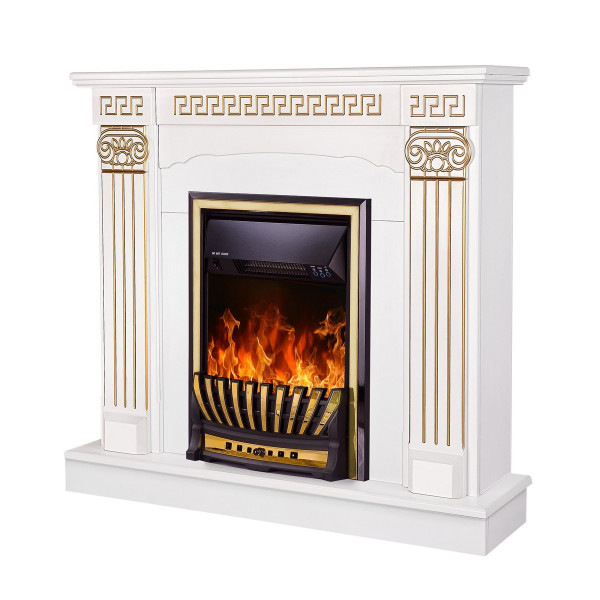 Calisto & Meridian electric fireplace - photo