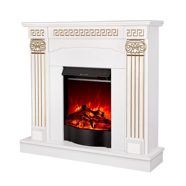Calisto & Corsica electric fireplace - photo