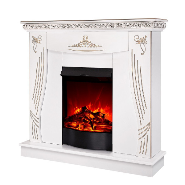 Napoli & Corsica electric fireplace - photo