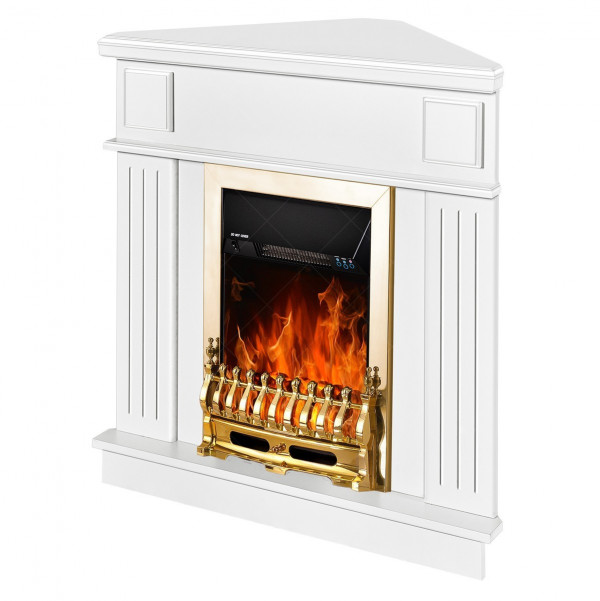Marina de colt & Galileo gold electric fireplace - photo