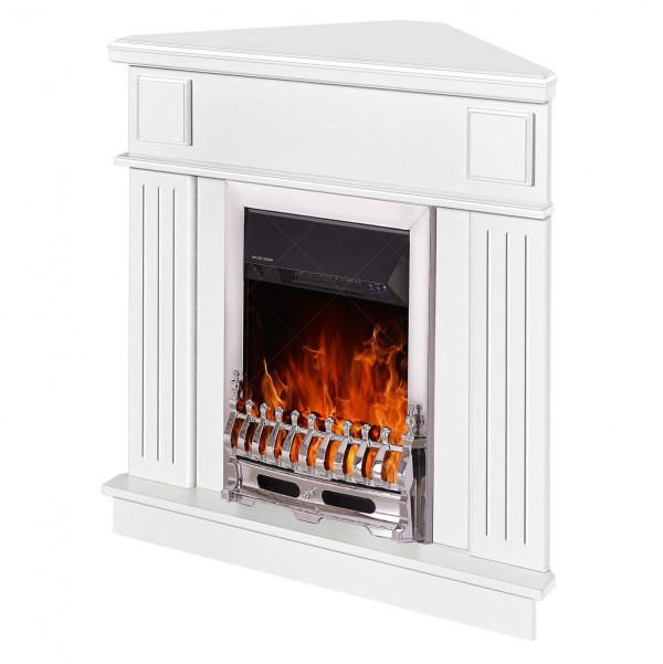 Marina de colt & Galileo silver electric fireplace - photo