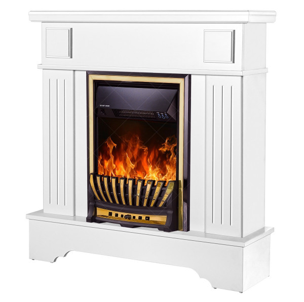 Marina Extra & Meridian electric fireplace - photo