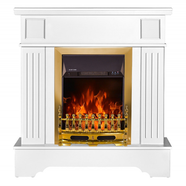 Marina Extra & Galileo gold electric fireplace - photo 2