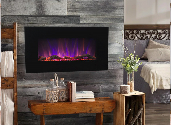 Marcus electric fireplace - photo